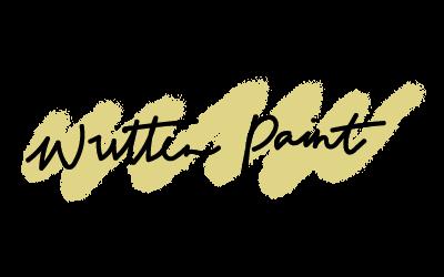Written paint